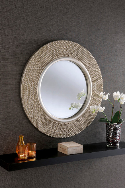 THE SILVER BEADED MIRROR