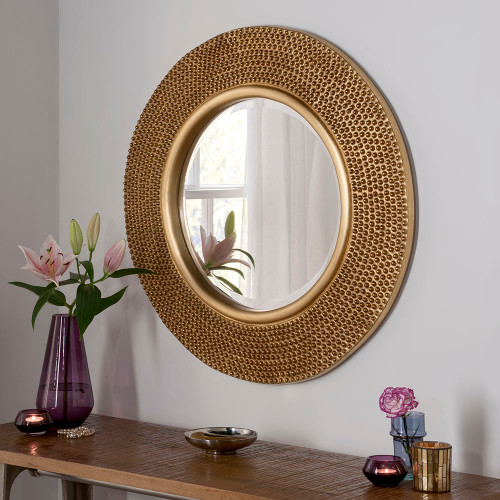 THE GOLD BEADED MIRROR