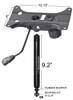 Combination Heavy Duty Tilt Swivel Rocker Seat Plate Mechanism Gas Spring Rated 350 lbs