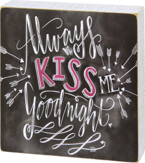 Always Kiss Me Goodnight from Primitives by Kathy