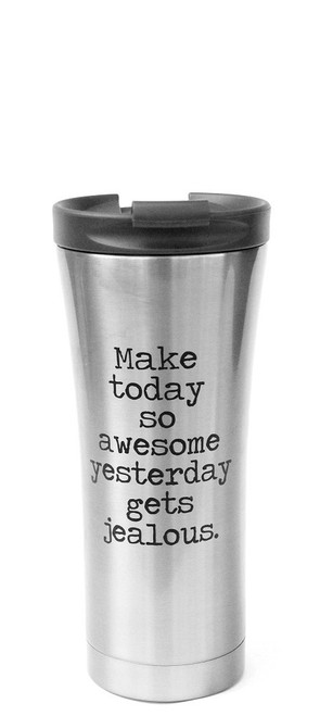 Make Today Awesome Travel Coffee Mug from Jules Products