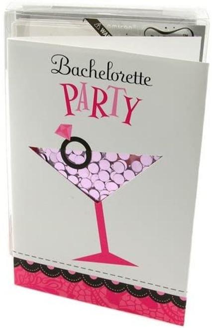 Bachelorette Party Confetti Shaker Invites, 8 Count