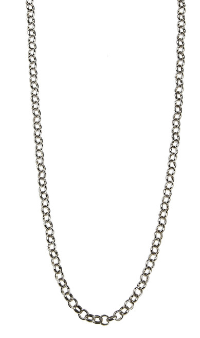 """Silver 30"""" Necklace with Extender by Jane Marie"""