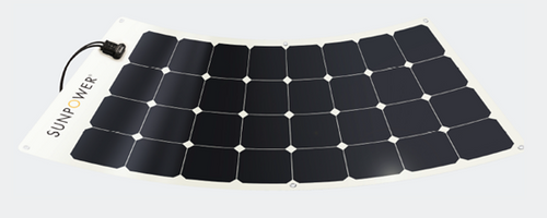 110w Solar E-Bike Charging System No Rack