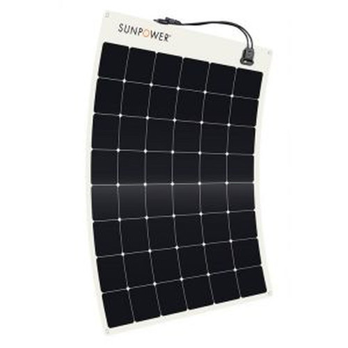 170w Solar E-Bike Charging System No Rack