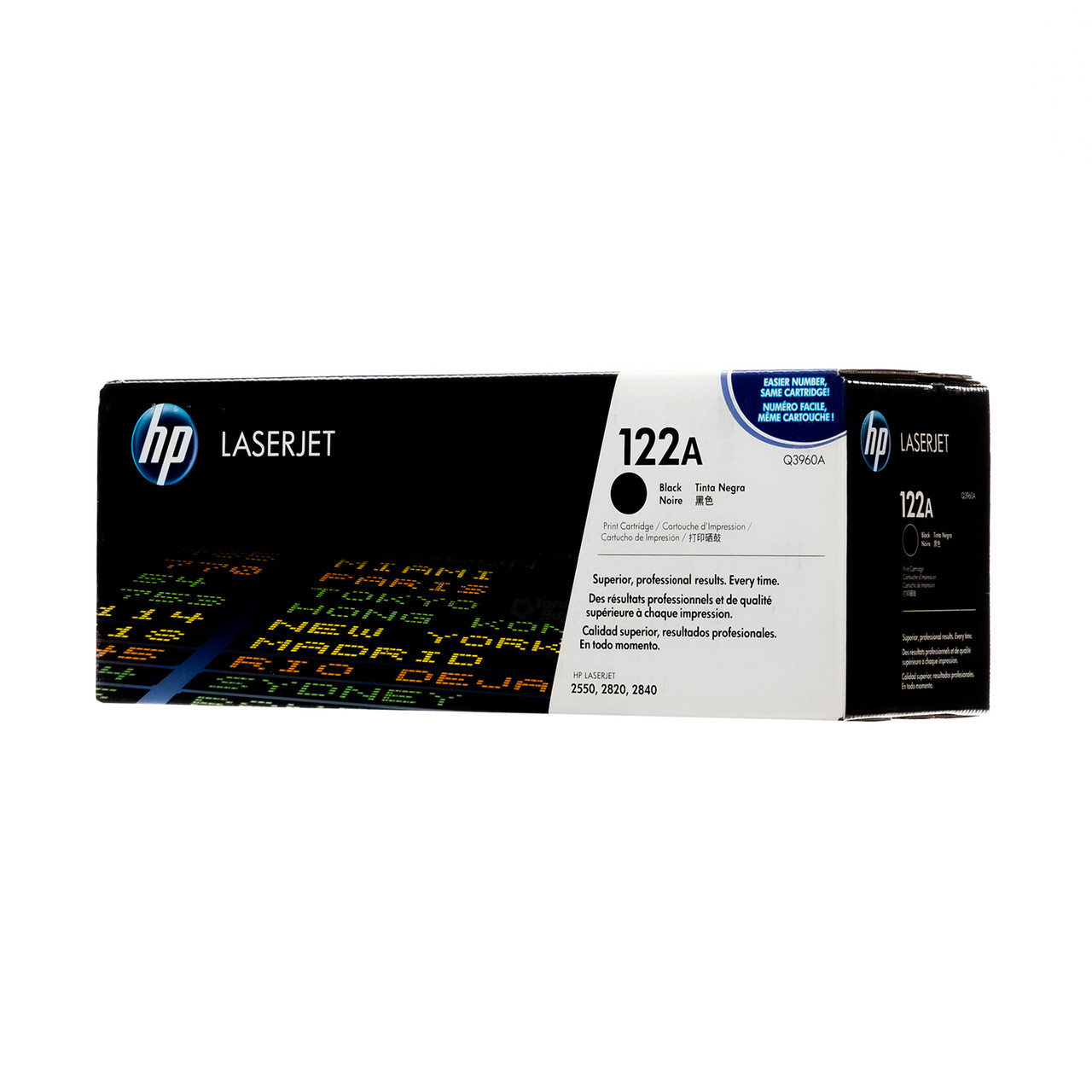 Genuine HP Laserjet 2550 122A Color Toner Set Q3960A Q3961A Q3962A Q3963A Sealed