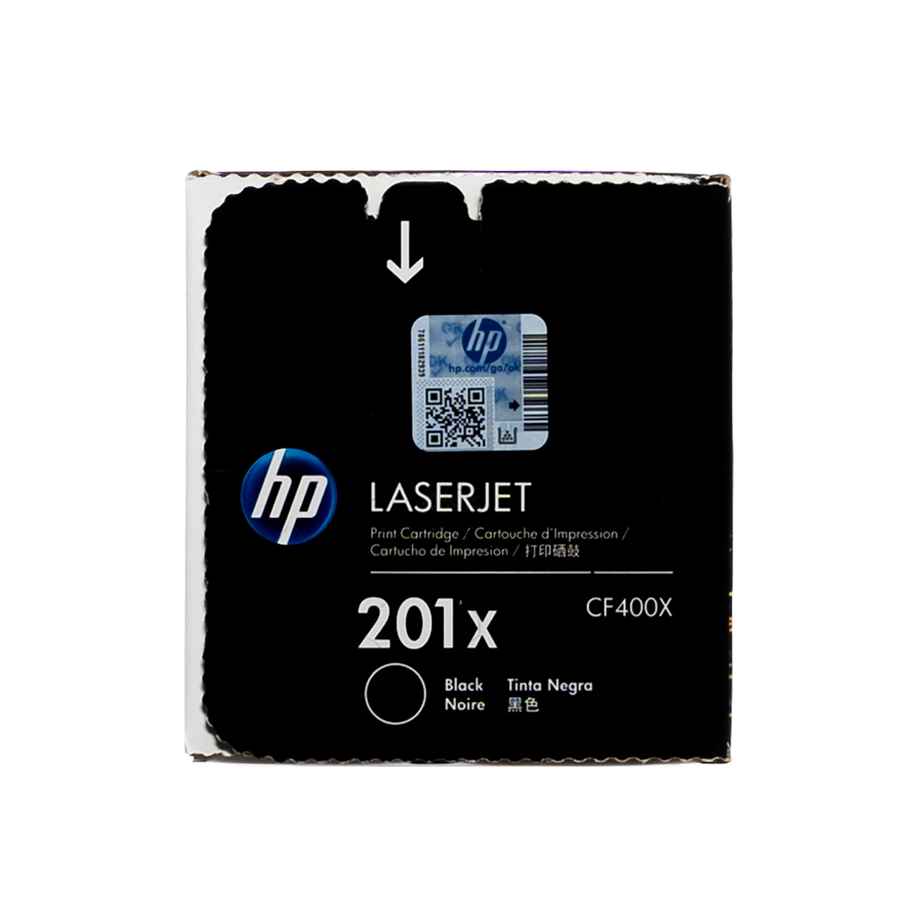 201X Black High Yield Toner Cartridge Genuine OEM Original BRAND NEW HP CF400X