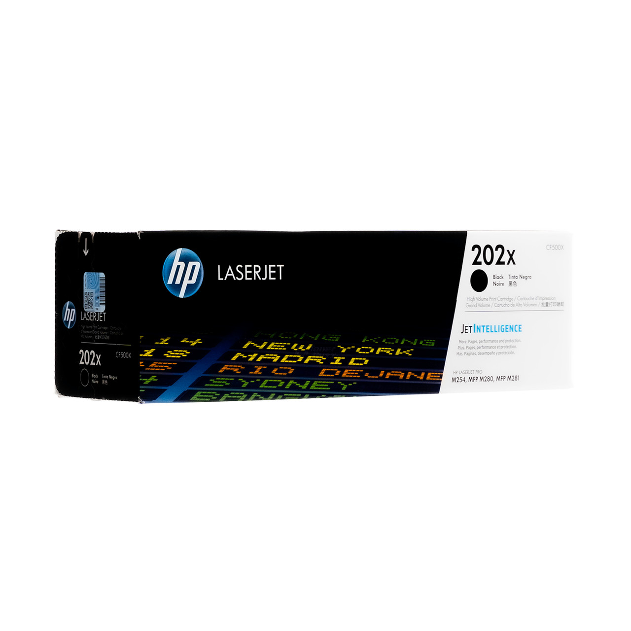 8PK CF500X Toner Cartridge For HP 202X Color LaserJet M254dw M281cdw M281fdw MFP