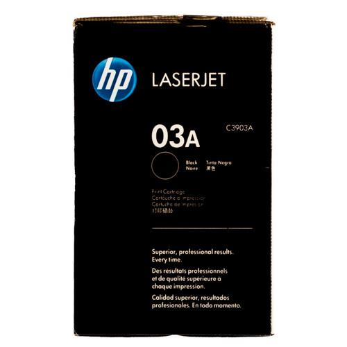 Original HP 03A C3903A Black LaserJet Toner Cartridge