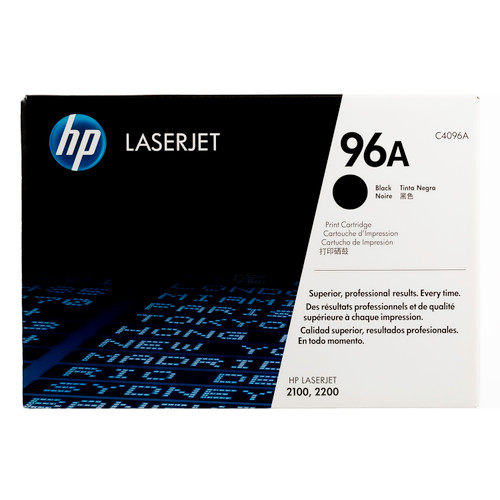 C4096A | HP 96A | Original HP Toner Cartridge – Black