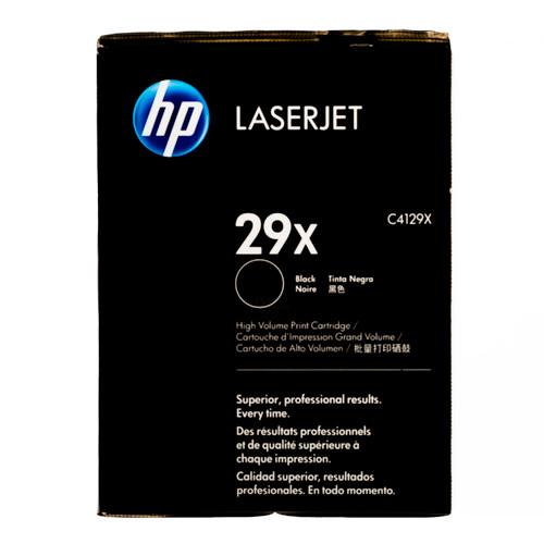 Original HP 29X C4129X Black High-Yield LaserJet Toner Cartridge