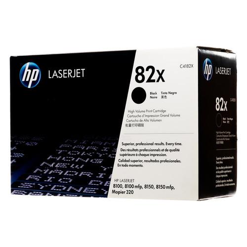C4182X | HP 82X | Original HP High-Yield LaserJet Toner Cartridge - Black