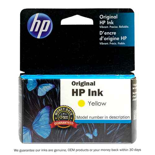 Original HP 13 Yellow Ink Cartridge