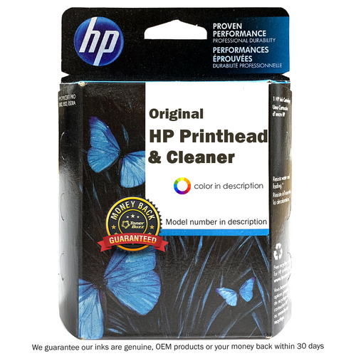 Original HP C5054A HP90 Printhead with Cleaner, Black