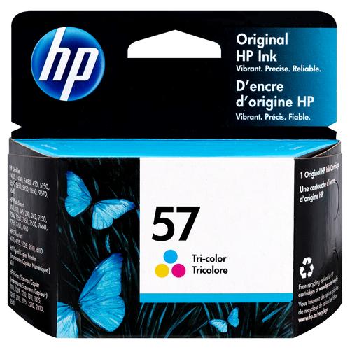 Original HP 57 Tri-color Ink Cartridge