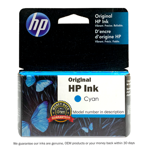 Original HP C8771WN 140 02 Cyan Ink Cartridge