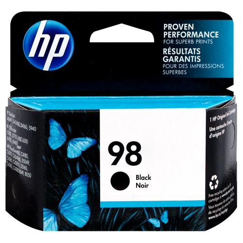 Original HP C9364WN 140 98 PS8050 Black Ink Cartridge