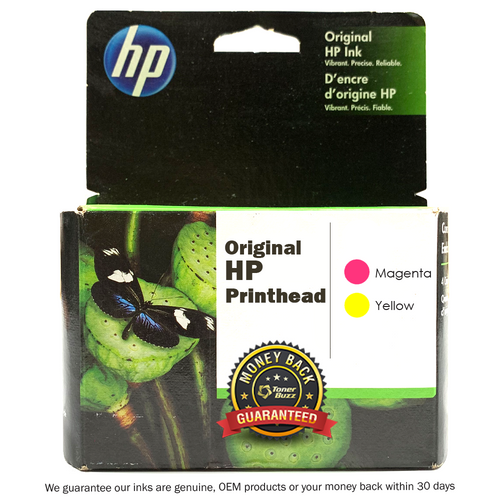 Original HP 91 C9461A Magenta and Yellow Printhead