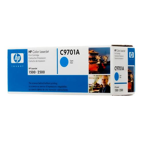 Original HP 121A Cyan C9701A LaserJet Toner Cartridge