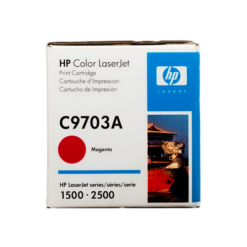 Original HP 121A Magenta C9703A LaserJet Toner Cartridge