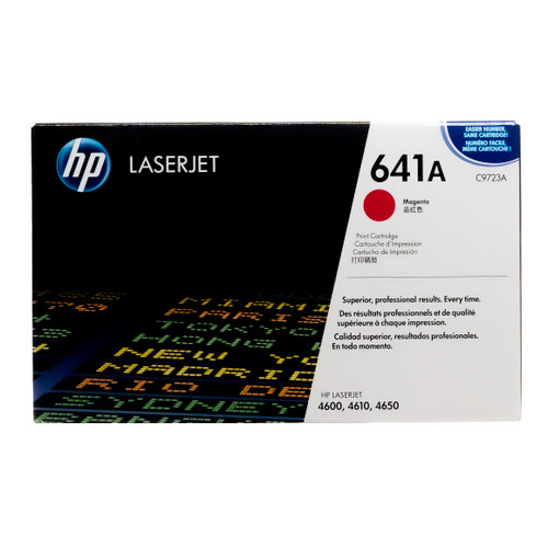 Original HP 641A Magenta C9723A LaserJet Toner Cartridge