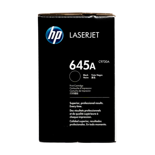 C9730A | HP 645A | Original HP Toner Cartridge – Black