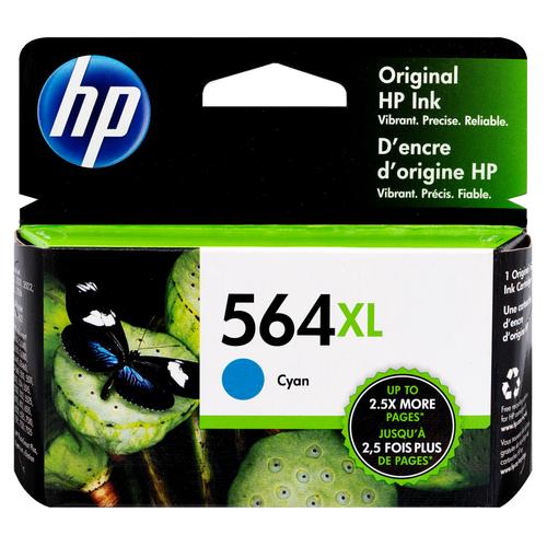 CB323WN | HP 564XL | Original HP High-Yield Ink Cartridge - Cyan