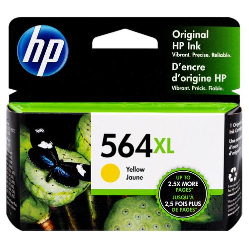 Original HP CB325WN#140 #564XL D5400 Yellow