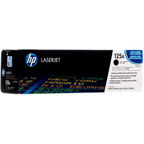 CB540A   HP 125A   Original HP LaserJet Toner Cartridge - Black