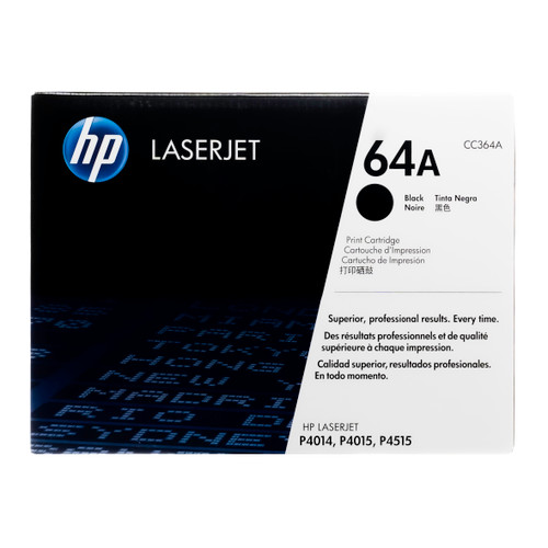CC364A | HP 64A | Original HP LaserJet Toner Cartridge - Black