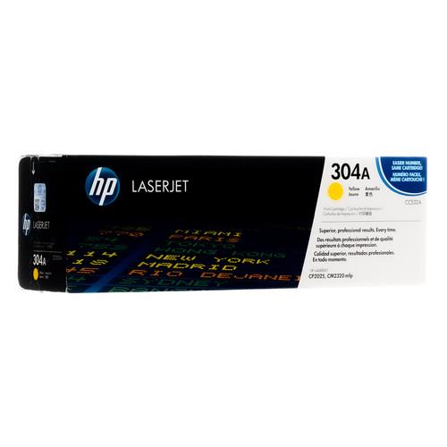 Original HP 304A Yellow CC532A LaserJet Toner Cartridge
