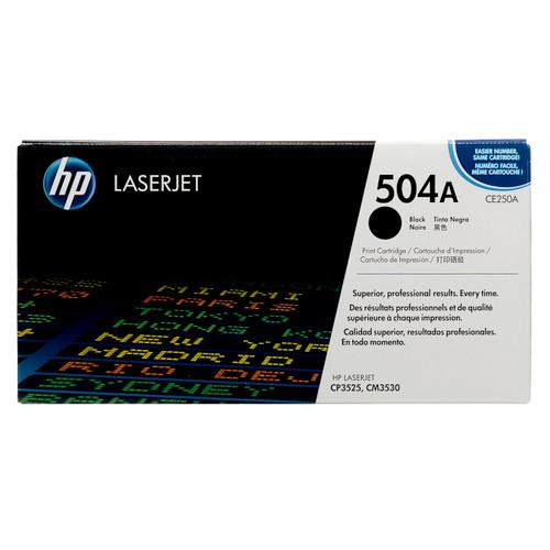HP 504A Black CE250A LaserJet Toner Cartridge