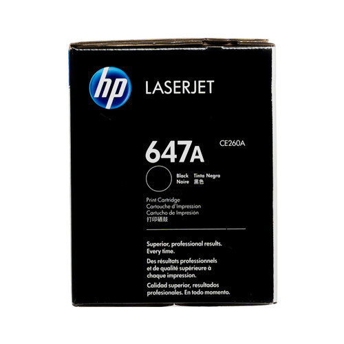 CE260A | HP 647A | Original HP Toner Cartridge – Black