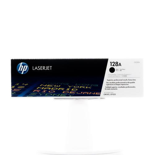 Original HP 128A Black CE320A LaserJet Toner Cartridge