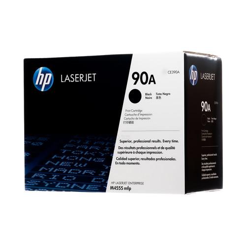 HP CE390A 90A Black LaserJet Toner Cartridge Genuine OEM Original