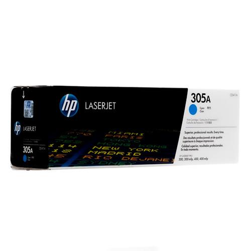 Original HP 305A Cyan CE411A LaserJet Toner Cartridge