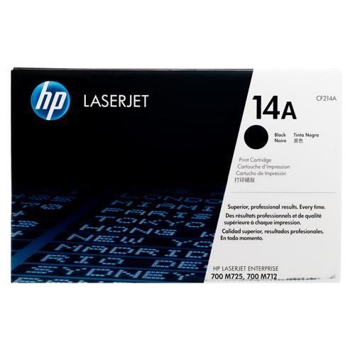 Original HP 14A CF214A Black LaserJet Toner Cartridge