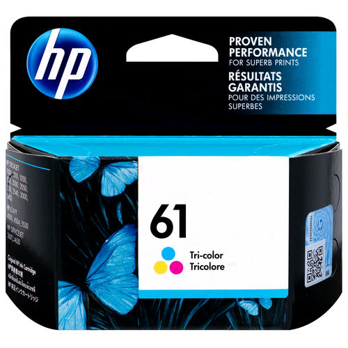 Original HP 61 Tri-color Original Ink Cartridge