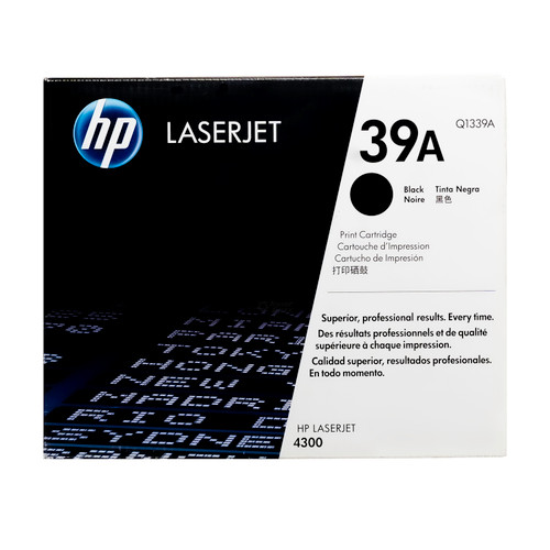 Original HP 39A Q1339A Black LaserJet Toner Cartridge