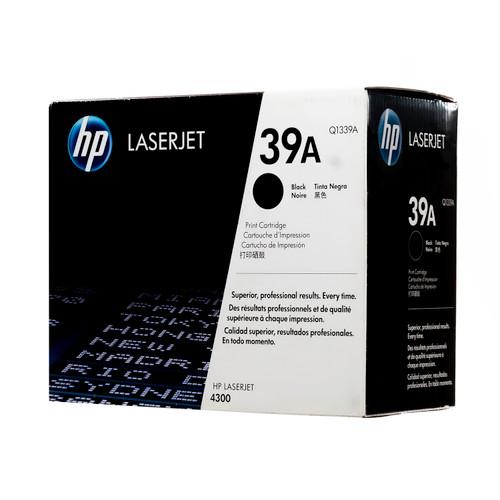 Original HP 39A Q1339A Black LaserJet Toner Cartridge