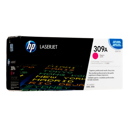 Original HP 309A Magenta Q2673A LaserJet Toner Cartridge