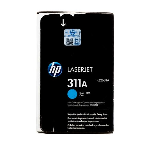 Original HP 311A Cyan Q2681A LaserJet Toner Cartridge