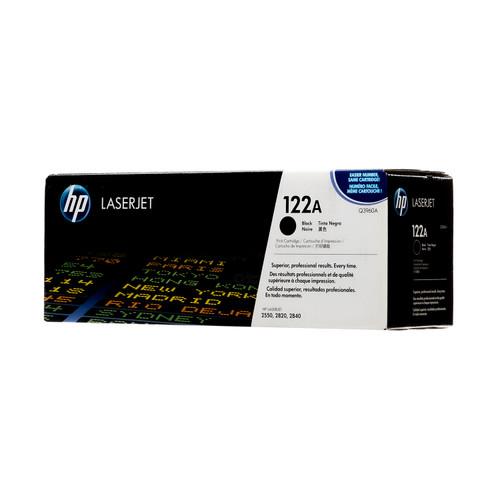 Original HP 122A Black Q3960A LaserJet Toner Cartridge