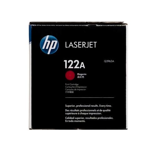 Original HP 122A Magenta Q3963A LaserJet Toner Cartridge