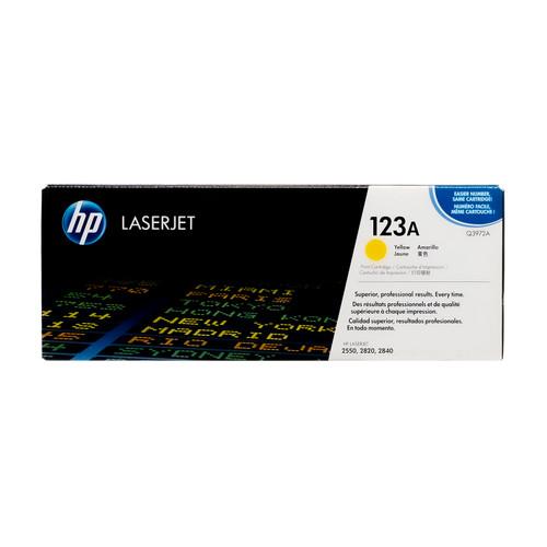 Q3972A | HP 123A | Original HP Toner Cartridge – Yellow