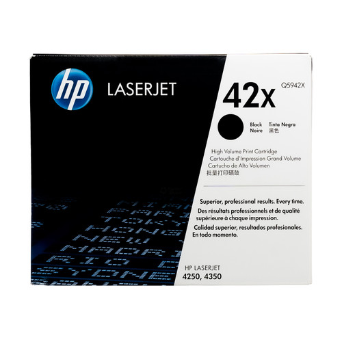 Q5942X | HP 42X | Original HP High-Yield Toner Cartridge – Black