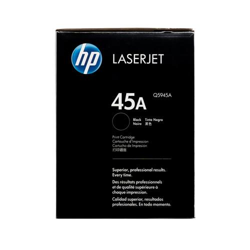 Original HP 45A Q5945A Black LaserJet Toner Cartridge
