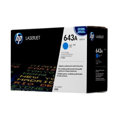 Q5951A   HP 643A   Original HP Toner Cartridge – Cyan