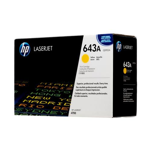 Q5952A   HP 643A   Original HP Toner Cartridge – Yellow