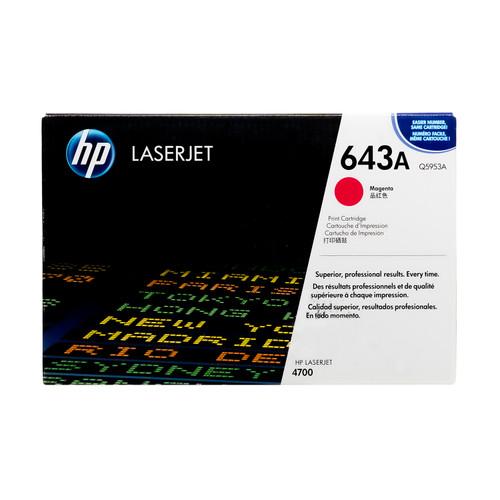 Q5953A | HP 643A | Original HP Toner Cartridge – Magenta